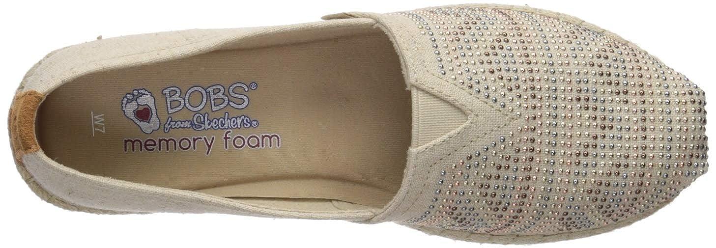 2f55bf15937a4 Amazon.com | Skechers Women's Bobs Breeze-Moonbeams & Stars Platform | Shoes