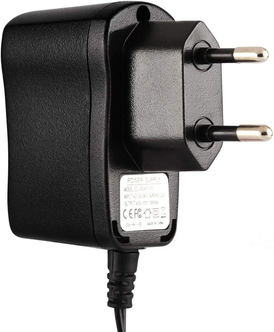 camellia Netzteil EU US UK Eingang AC100-240V 50//60 Hz 0.2A Ausgang6V 1000mA Leichtgewichtler Breite kompatibel Plug and Play Schwarz