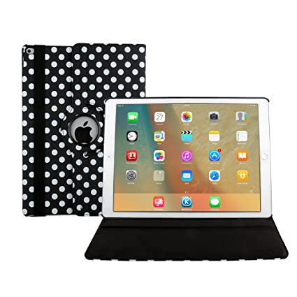 APPLE I PAD AIR LEATHER 360 DEGREE ROTATING CASE COVER  IN VARIOUS COLORS