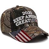 Trump Hat President Donald Trump 2020 Hat Keep America Great Embroidery MAGA USA Adjustable Baseball Cap for Men Women