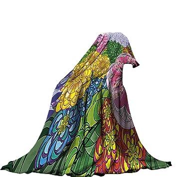 11ee4e1444655 Amazon.com: QINYAN-Home Digital Printing Blanket (90