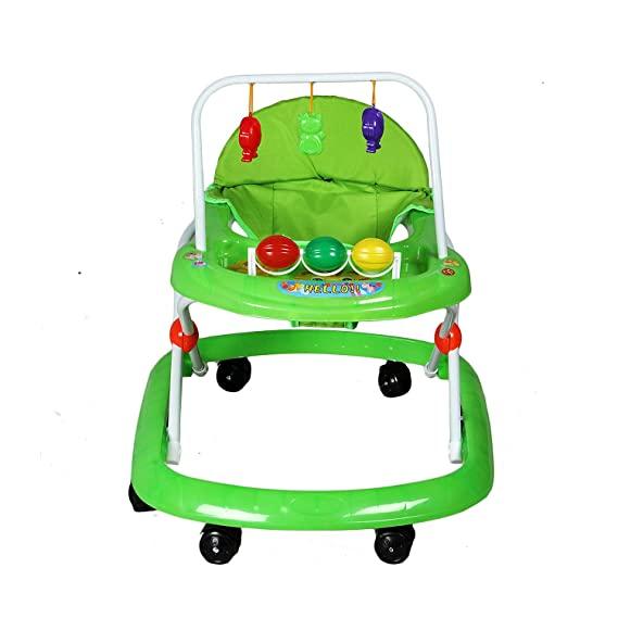 GTC Baby Walker Fashioned Foot Walker Baby (992) (Green)