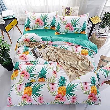 Amazon.com: Bedding Duvet Cover Sets 3 pieces Full/Queen Size(90