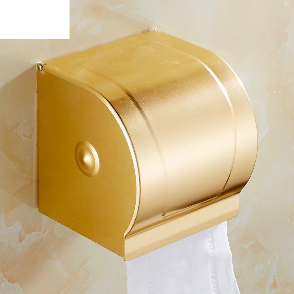 Amazon.com: Matt champagne gold aluminum space tissue boxes/Paper ...