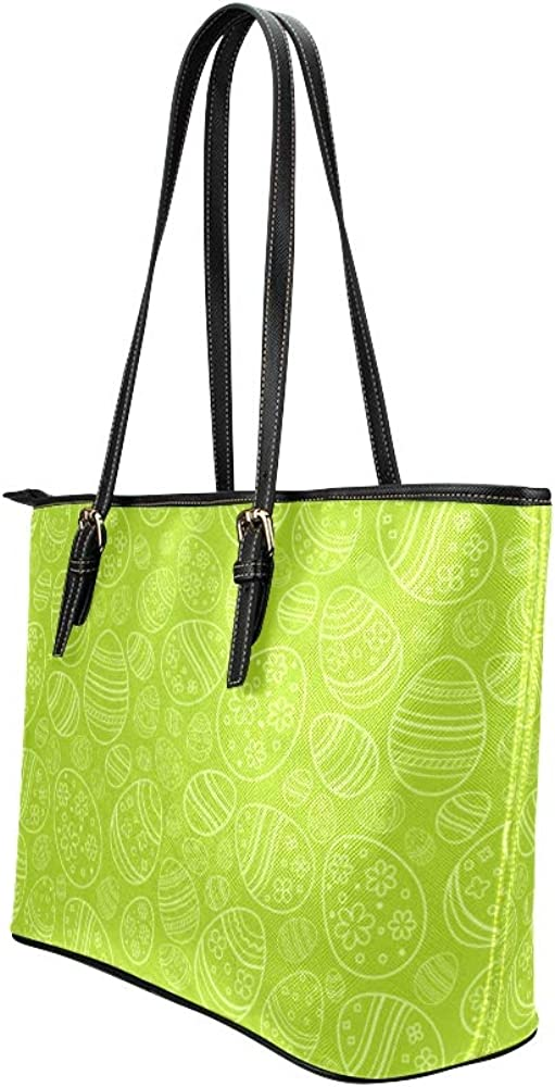 Handbags Organizer For Women Nutrition Art Creative Colorful Egg Leather Hand Totes Bag Causal Handbags Zipped Shoulder Organizer For Lady Girls Womens Travel Tote Bag For Women