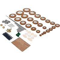 Sax Pads Reeds Needles Shaft Rods Cork Sheet Screws for Alto Saxophone Replacement Parts