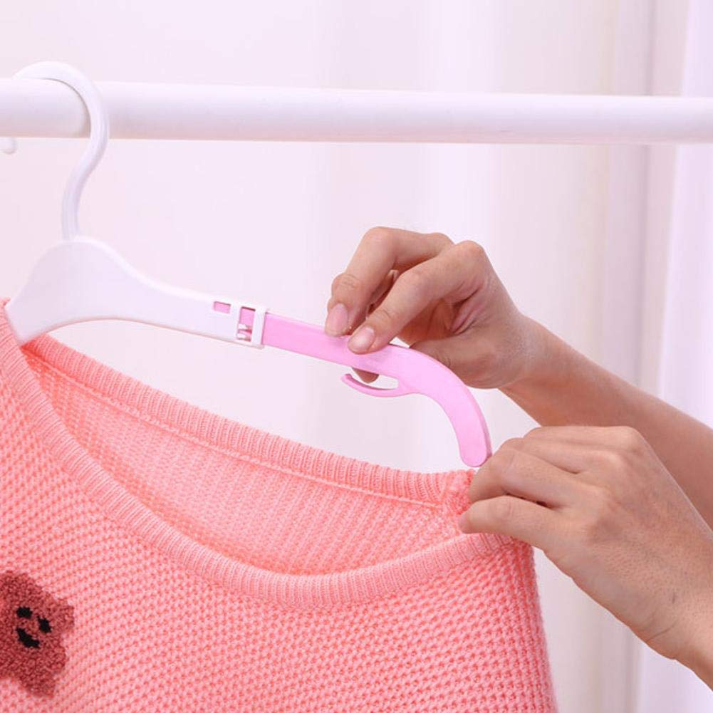 20cm 6PCS Hangers Babykleiderb/ügel Kunststoff Vielseitig favourall kleiderb/ügel Kinder kleiderb/ügel Baby Kunststoff 1cm skalierbar 36cm