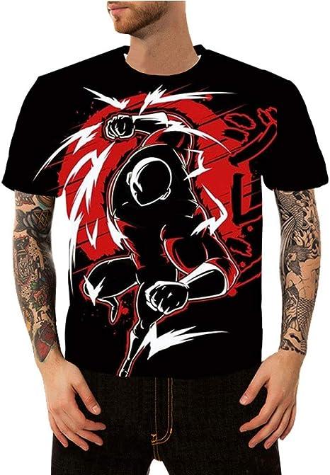 Haoli DBZ, Gillian, 3D Digital Camiseta Impresa, la Manga ...