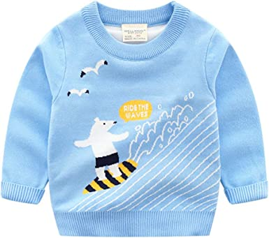 Boys Dinosaur Sweatshirts Toddler Pullover Long Sleeve T-Shirts Boy Crewneck Cotton Tops Tee Sport Outfit for Kids 1-7T