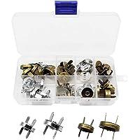 Mila-Amaz 20 stuks magneetknoppen magnetische knoppen 2 kleuren magneetsluiting naaien handwerk