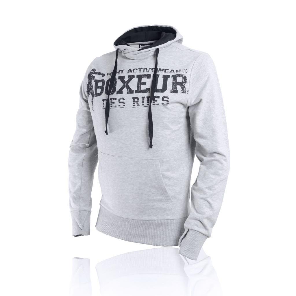 BOXEUR DES RUES Herren Bxt-4552 Sweatshirt Mit Kapuze