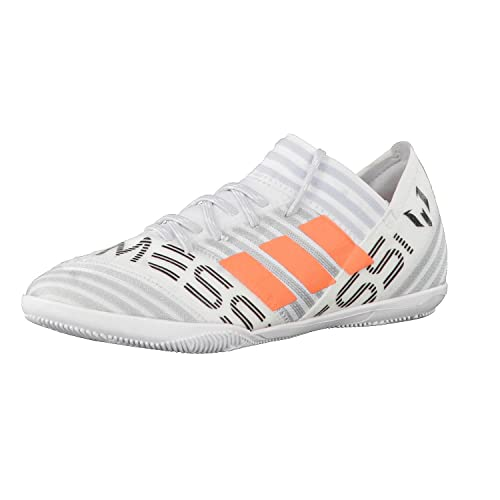adidas Nemeziz Messi 17.3 IN Niño, Zapatilla de fútbol Sala, White-Solar Orange-Core Black, Talla 31 EUR: Amazon.es: Zapatos y complementos