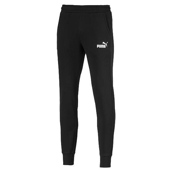 PUMA Herren ESS Logo Pants FL cl Hose: : Bekleidung