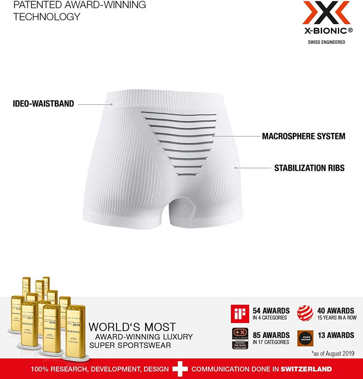 Donna X-Bionic Invent Light Boxer Shorts Women