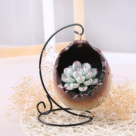 Creative Hanging Flower Pot Planter Ceramic Indoor Succulent Plant Pot Container