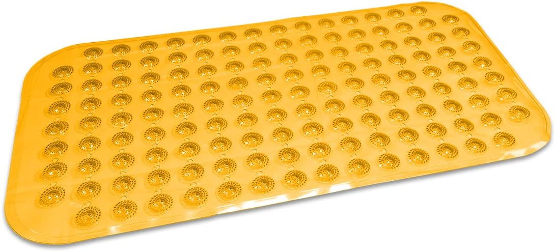 Amarillo BriTools Alfombra Antideslizante Burbuja 72 x 38 cm