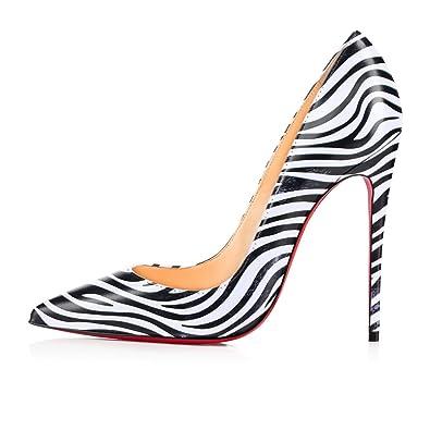 Leopard print high heel slip on court shoes 7VU0Qh