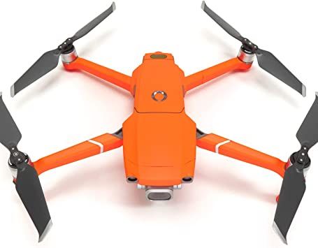 Opinión sobre WRAPGRADE Unidad Principal Skin Compatible con dji Mavic 2 (Neon Orange)