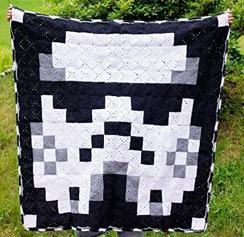 Image of Home and Kitchen Star Wars Stormtrooper Granny Square Blanket