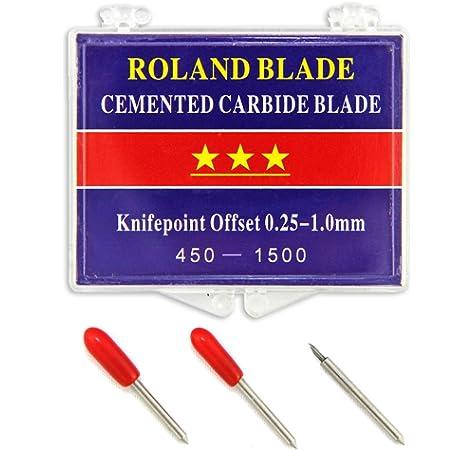 Roland – Cuchillas de corte de 60 grados, carburo cementadas, paquete de 3: Amazon.es: Hogar