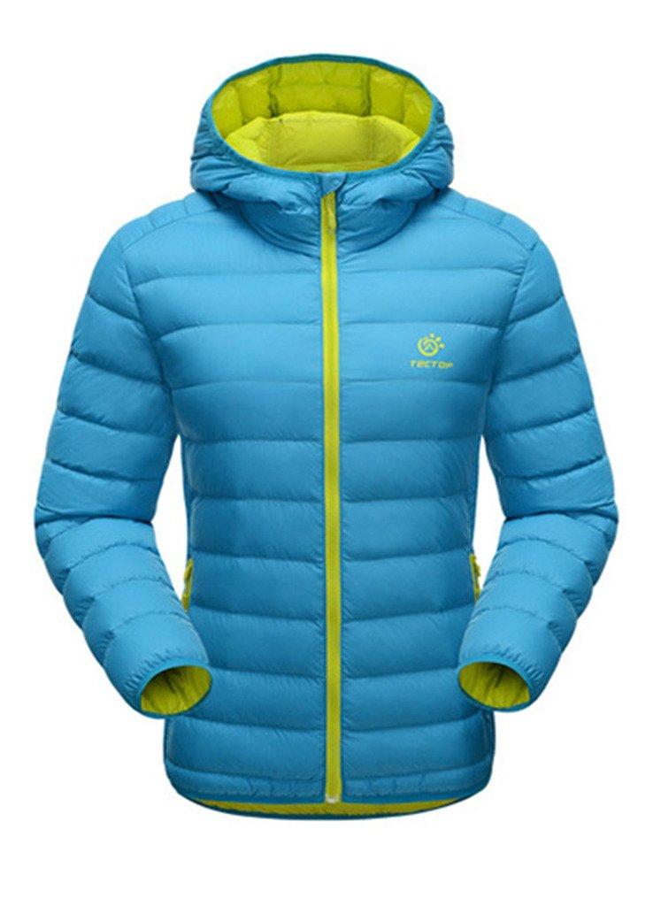 OUO NEU Damen Daunenjacke Winter Kälteschutz Sweatjacke Daunen Jacke Outdoor Kapuze Reißvrschluss