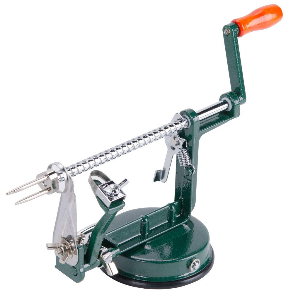 TableTop King Cast-Aluminum Apple Slicer/Peeler/Corer with Stainless Steel Blade by TableTop King