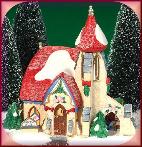 Department 56 North Pole Series Elfland Wedding Bells Chapel by Elfland