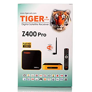 Tiger Star Z400Pro Digital Satellite Receiver IPTV Set Top Box,TV