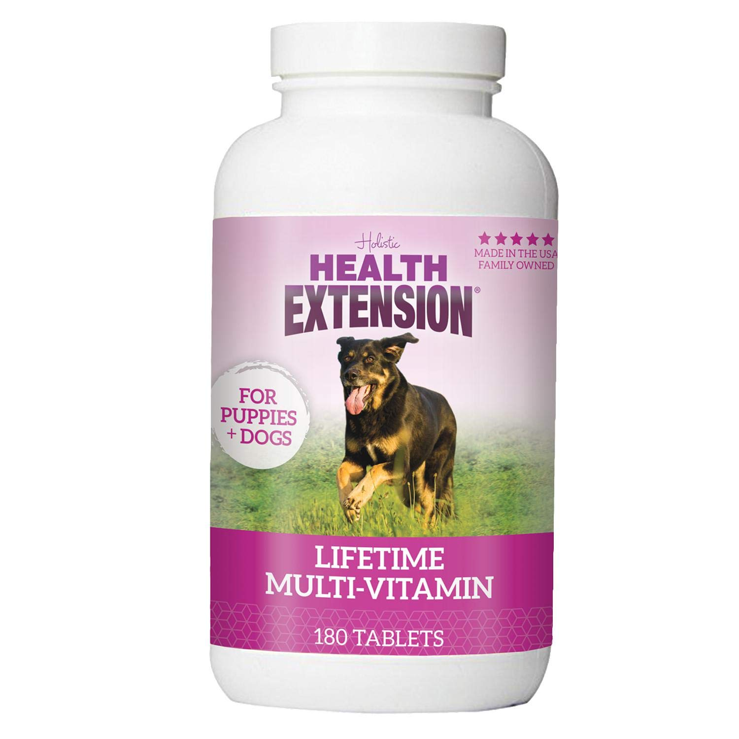 Amazon Com Health Extension Lifetime Vitamins For Puppies And Dogs