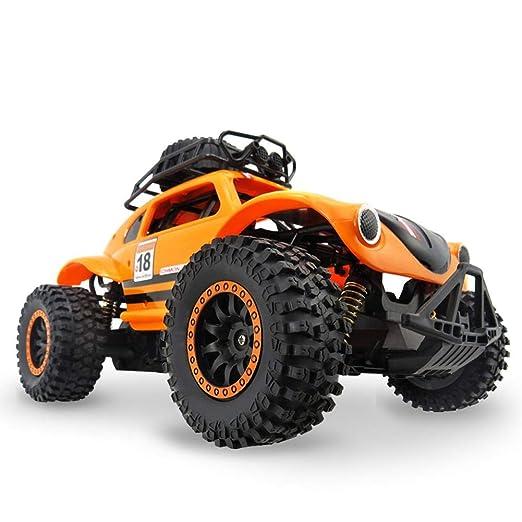 Radio RC Coche RTR, Alta velocidad 1:14 4WD Electric Power 2.4G RC Coche, naranja: Amazon.es: Bebé