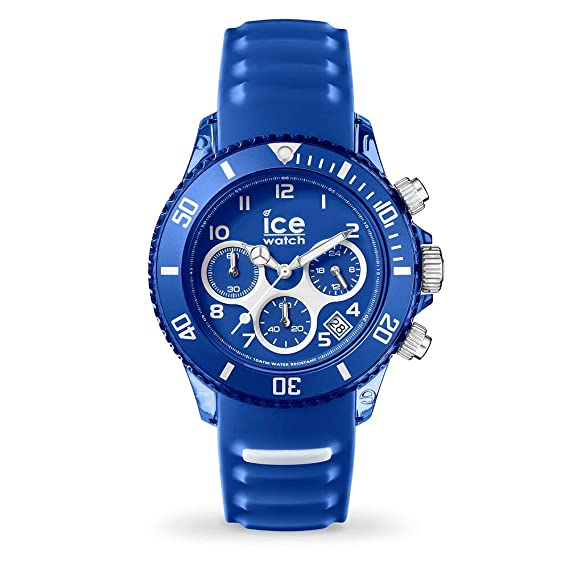 Ice-Watch Reloj Cronógrafo para Hombres de Cuarzo con Correa en Silicona 12734