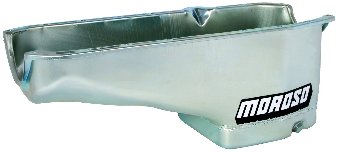 Moroso 20181 8.25 Core Modified Oil Pan for Chevy Small-Block Engines