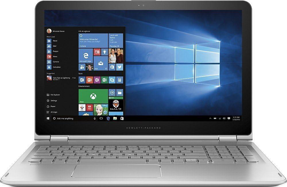 HP Envy x360 15 15.6in Full HD 1920x1080 IPS Touchscreen Convertible 2-in-1 Laptop - Core i7-6500U 2.5GHz | 1TB HDD | 16GB RAM | WiFi + Bluetooth | Backlit Keyboard | Windows 10 (Renewed)