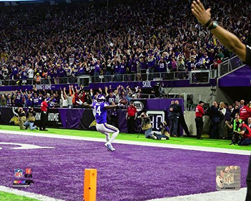 Playoff Great Games 10 - Minnesota Vikings Stefon Diggs Miracle In Minneapolis. NFC Divisional Play Off Game Winning Catch. 8x10 Photo, Picture. endzone