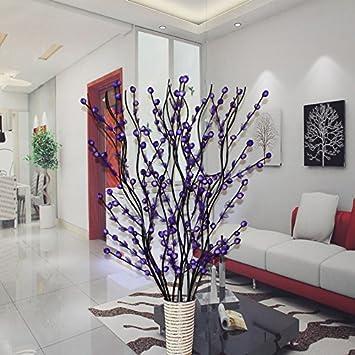 Amazon De Bouquet Blumen Auf Dem Boden Platziert Wohnzimmer Eingang