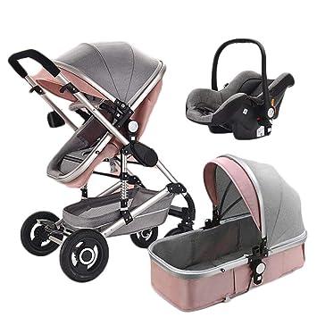Moolo Cochecitos Carro de bebé 3 en 1 Amortiguador de ...