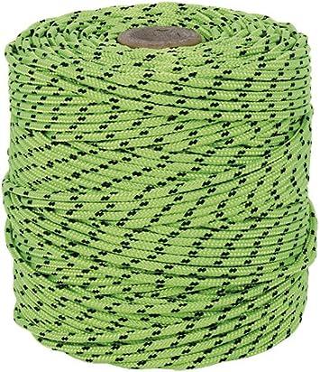 Cofan 08101153 Cuerda, Verde y negro, 3 mm x 100 m: Amazon.es ...