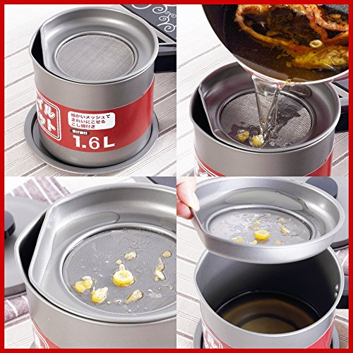 Mylifeunit quart oil storage grease keeper