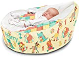 Bambeano 174 Baby Bean Bag Support Chair Natural With