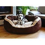 Knuffelwuff Lit pour chien Heaven S - M 80 x 70cm - Extra moelleux