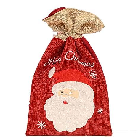 iStary Nuevos Suministros De Decoración De Navidad Candy Regalo Bolsas Santa Claus Dress Up Olsa De