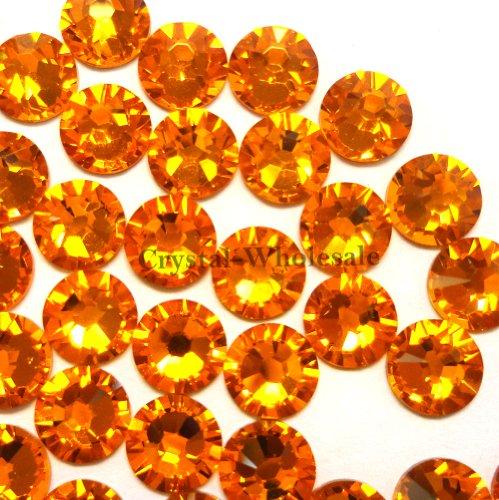 144 Swarovski 2028 / 2038 16ss HOTFIX crystal flatbacks ss16 SUN A HF