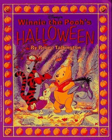 Disney's: Winnie the Pooh's - Halloween by Bruce Talkington (1995-10-31) -