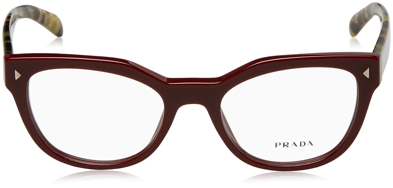 Amazon.com: Prada PR21SV Eyeglass Frames 1AB1O1-51 - Black PR21SV ...