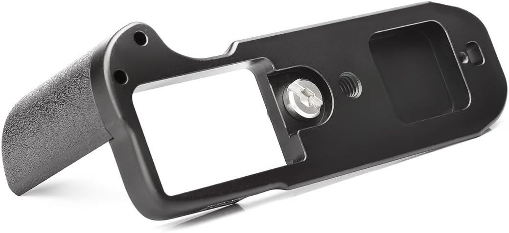 Meike Aluminum Alloy Hand Grip Quick Release Plate L Bracket MK-XA5G for Fujifilm X-A5 X-A3