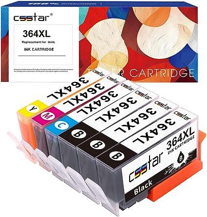 CSSTAR Compatible Cartuchos de Tinta Reemplazo para HP 364 XL ...