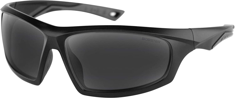 Bobster Mens Vast Sunglasses,OS,Smoked//Matte Black