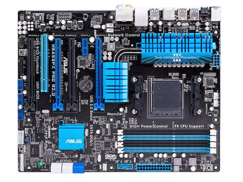 ASUS M5A99FX PRO R2.0 AM3+ AMD 990FX SATA 6Gb/s USB 3.0 ATX AMD Motherboard (Green Am2 Motherboard)
