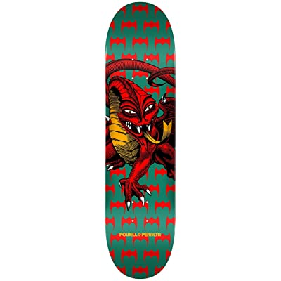 """Powell Peralta 'One Off Cab Dragon' Deck. Green - 7.75"""""""