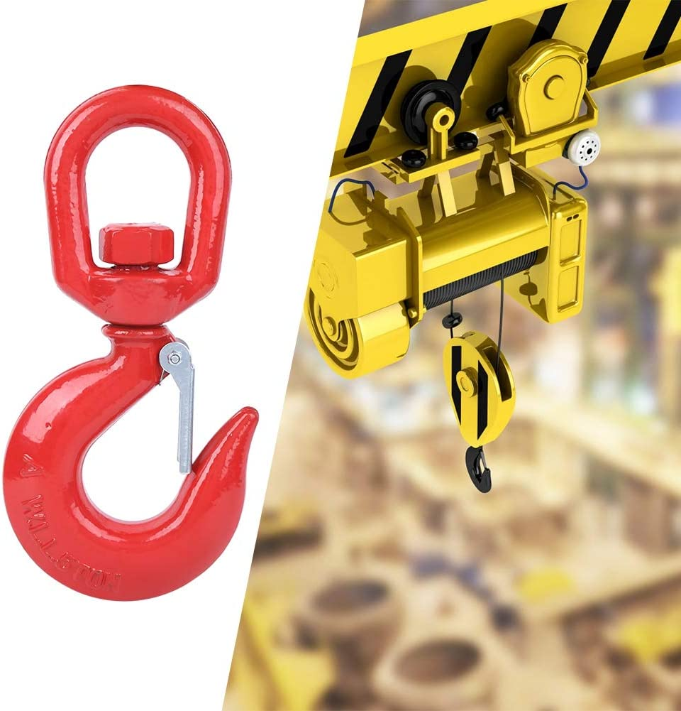 Alloy Steel Hook Crane Hook Anti‑cracking Crane for Rope Installation Lifting Industry Ship Building